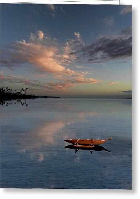 Canoe Greeting Cards - 2354 Greeting Card by Peter Holme III