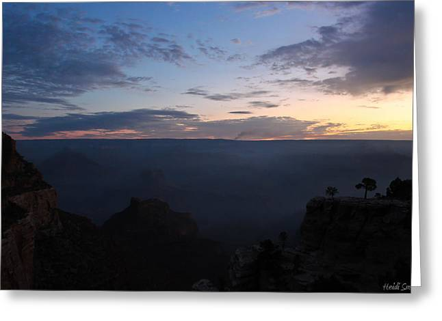 The Grand Canyon Greeting Cards - 24 Minutes To Sunrise Greeting Card by Heidi Smith