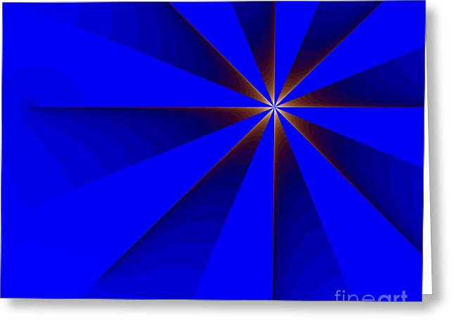 Sweating Digital Art Greeting Cards - Fractal Greeting Card by Odon Czintos