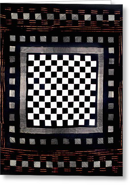 Bass Tapestries - Textiles Greeting Cards - 25 Greeting Card by Mildred Thibodeaux