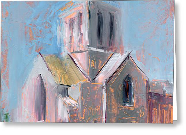 Minster Greeting Cards - RCNpaintings.com Greeting Card by Chris N Rohrbach