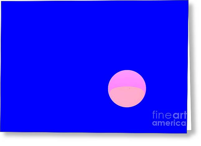 Sweating Digital Art Greeting Cards - Planet Greeting Card by Odon Czintos