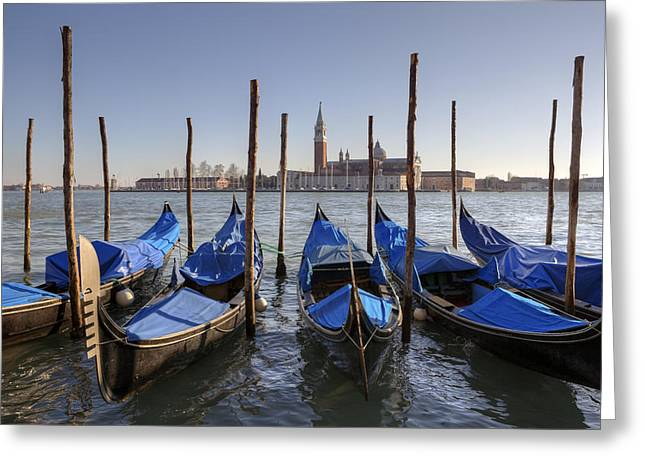 Lagoon Greeting Cards - Venezia Greeting Card by Joana Kruse