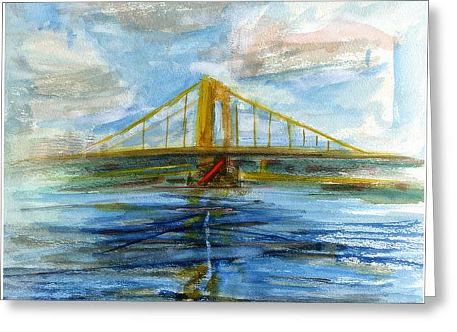 Allegheny Drawings Greeting Cards - RCNpaintings.com Greeting Card by Chris N Rohrbach