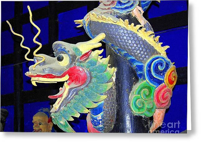 Palm Greeting Cards - Asian Splendors Series Greeting Card by Terry Troupe