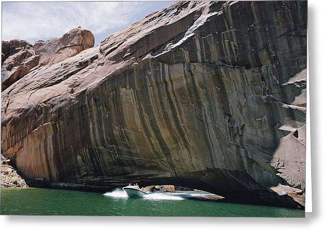 Glen Canyon National Recreation Area Greeting Cards - Untitled Greeting Card by Walter Meayers Edwards