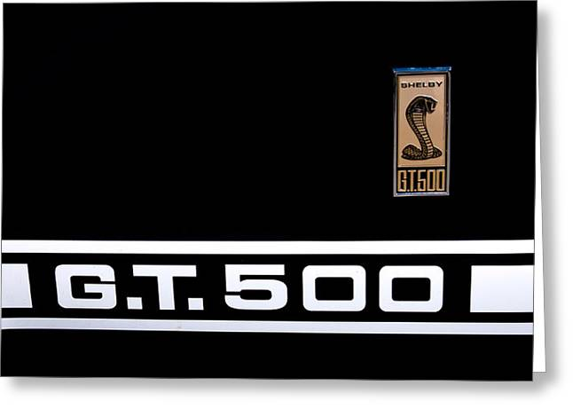 67 Greeting Cards - 1967 Ford Mustang Shelby GT500 Greeting Card by David Patterson