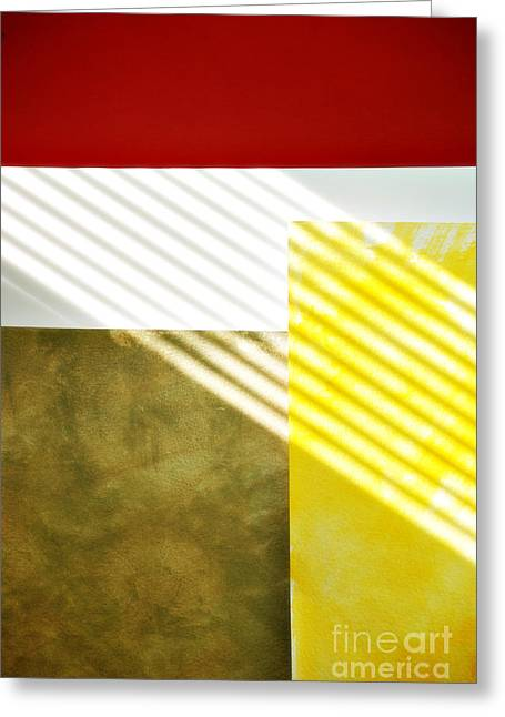 Abstract Forms Photographs Greeting Cards - Abstract Greeting Card by HD Connelly