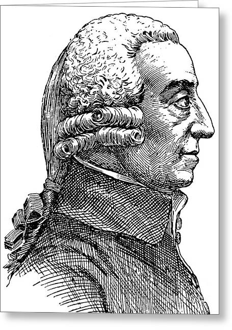 Faire Greeting Cards - Adam Smith (1723-1790) Greeting Card by Granger