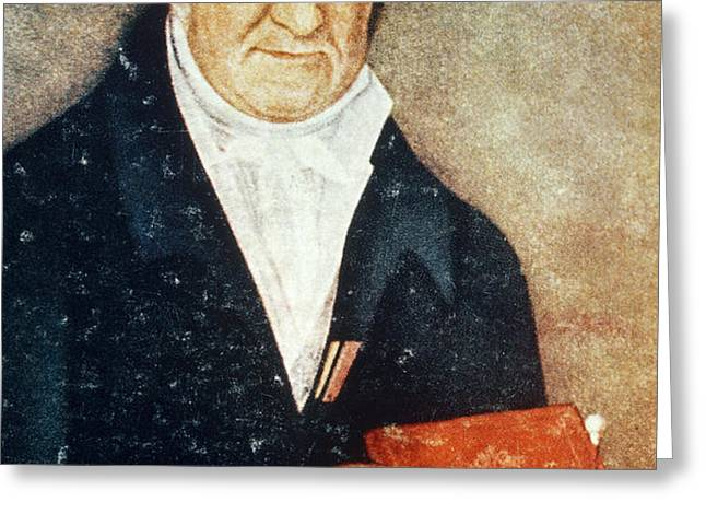 Alessandro Volta, Italian Physicist Greeting Card by Science Source