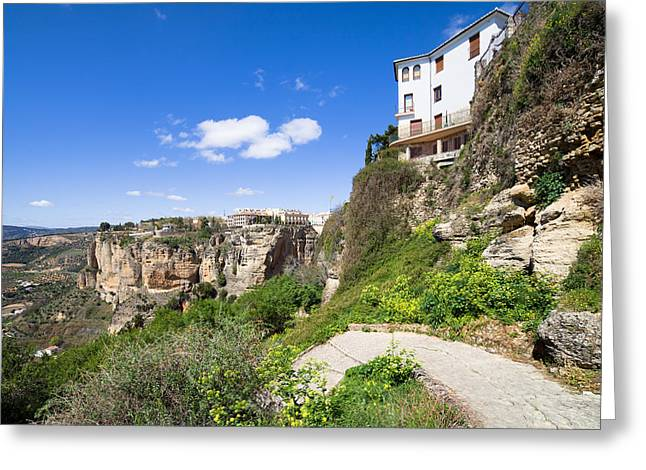 Mediterranean Village Greeting Cards - Andalusia Landscape Greeting Card by Artur Bogacki
