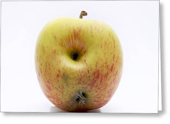 Pest Greeting Cards - Apple Greeting Card by Bernard Jaubert