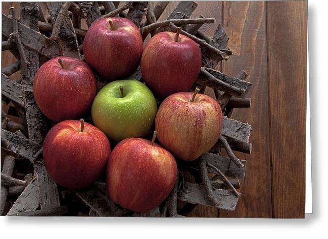Apple Greeting Cards - Apples Greeting Card by Joana Kruse