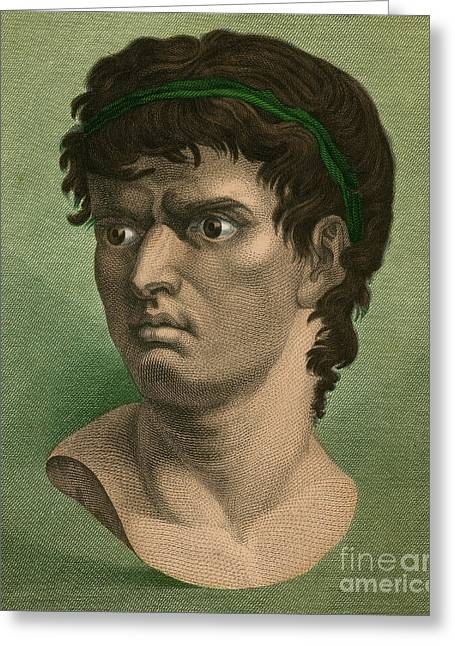 Junius Greeting Cards - Brutus, Roman Politician Greeting Card by Photo Researchers