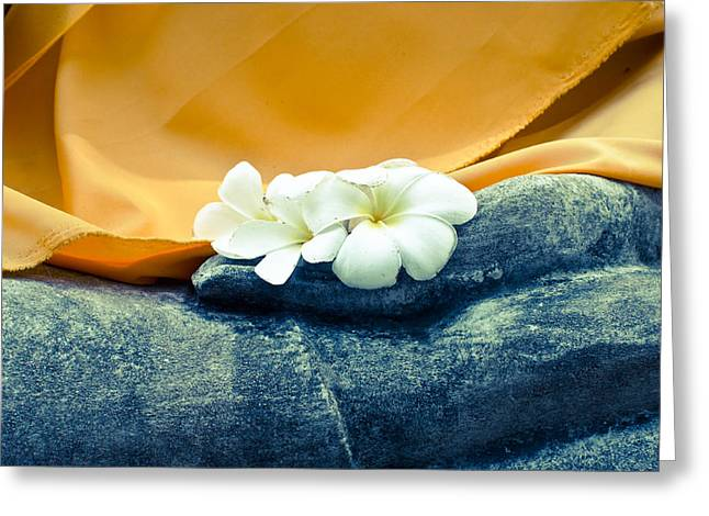 Belief Sculptures Greeting Cards - Buddha statue Greeting Card by Thosaporn Wintachai