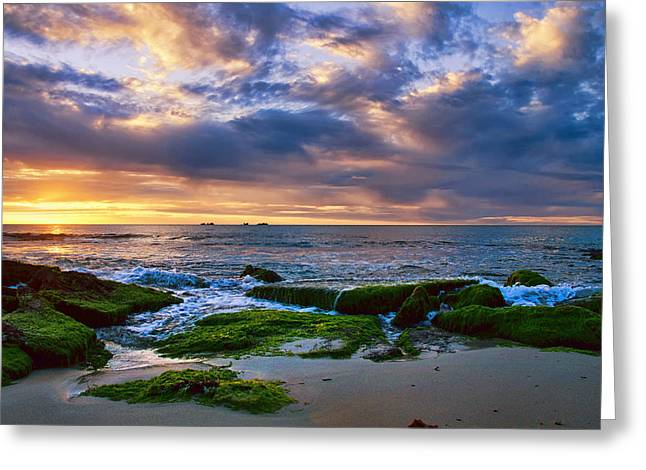 Burns Beach Greeting Card by Imagevixen Photography