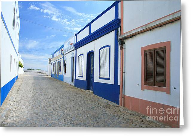 Portugal Greeting Cards - Cacela Velha Greeting Card by Carl Whitfield