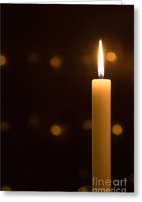 Christmas Candle Greeting Cards - Candles Greeting Card by Kati Molin