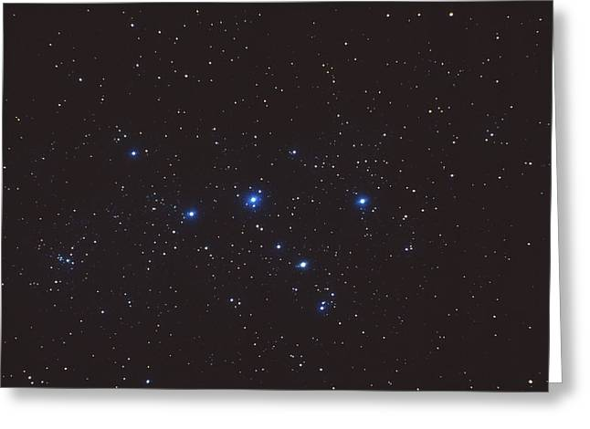 Cassiopeia Constellation Greeting Cards - Cassiopeia Constellation Greeting Card by John Sanford