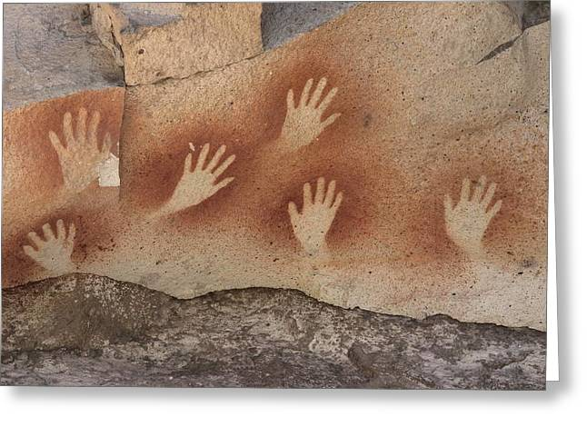 La Cueva Greeting Cards - Cave Of The Hands, Argentina Greeting Card by Javier Truebamsf