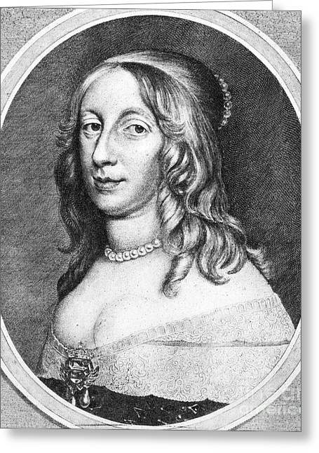 Christina Greeting Cards - Christina (1626-1689) Greeting Card by Granger