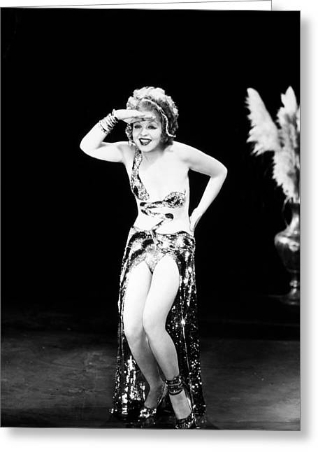 1930s Movies Greeting Cards - Clara Bow (1905-1965) Greeting Card by Granger