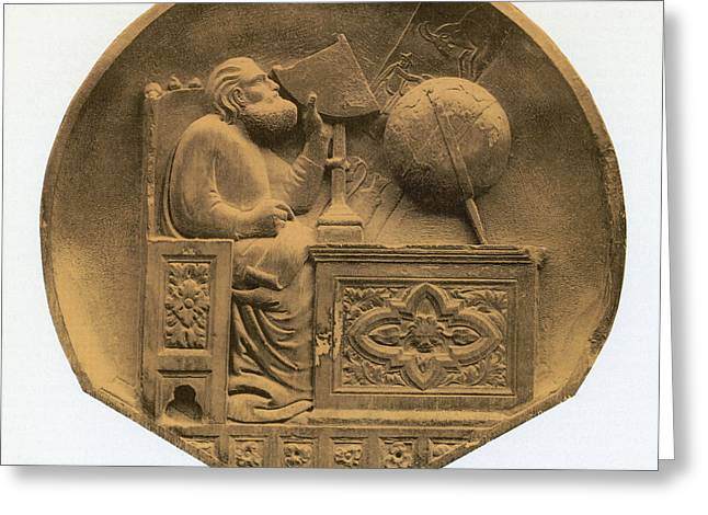 Claudius Greeting Cards - Claudius Ptolemy, Greek-roman Polymath Greeting Card by Science Source