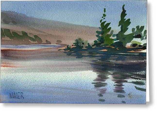 Crystal Greeting Cards - Crystal Springs Greeting Card by Donald Maier