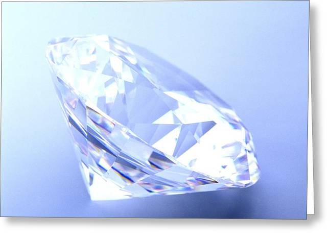 Valuable Greeting Cards - Diamond Greeting Card by Lawrence Lawry