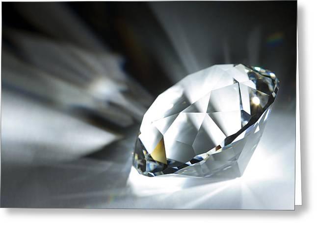 Valuable Greeting Cards - Diamond Greeting Card by Pasieka