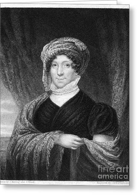 Dolley Greeting Cards - Dolley Madison (1768-1849) Greeting Card by Granger