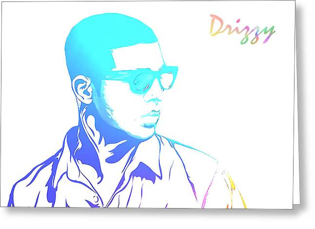 Drizzy Greeting Cards - Drizzy  Greeting Card by The DigArtisT
