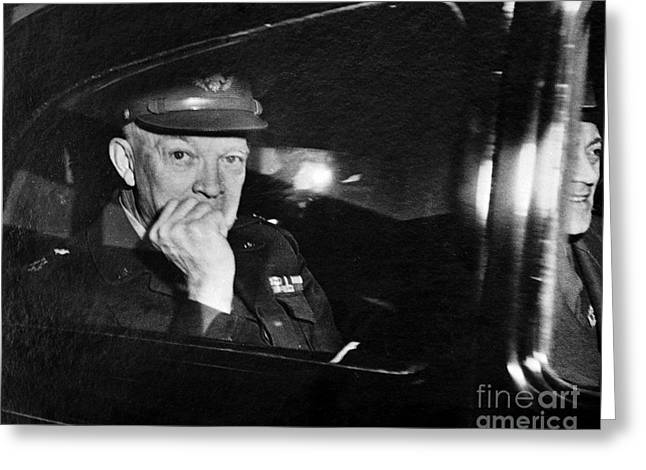 1951 Greeting Cards - Dwight D. Eisenhower Greeting Card by Granger