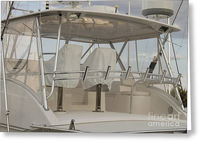 Charters Greeting Cards - Fishing Boat Greeting Card by Blink Images