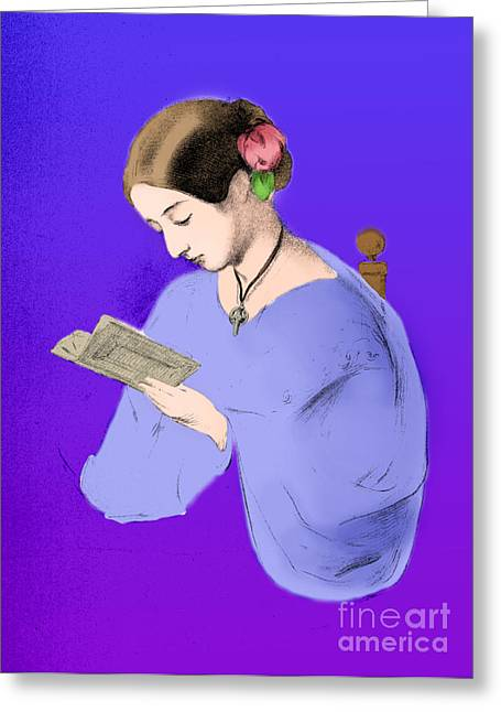 Reformer Greeting Cards - Florence Nightingale, English Nurse Greeting Card by Science Source