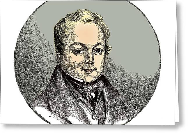 François Magendie, French Physiologist Greeting Card by Science Source