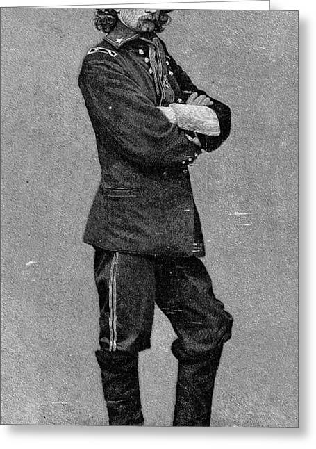 U.s Army Greeting Cards - George Custer (1839-1876) Greeting Card by Granger