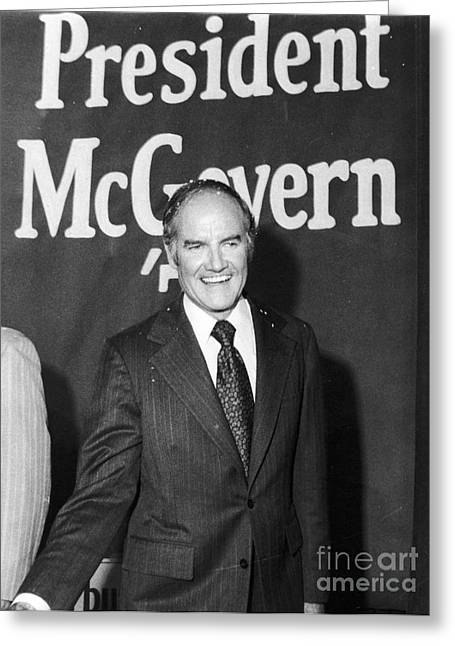 Mcgovern Greeting Cards - GEORGE McGOVERN (1922- ) Greeting Card by Granger