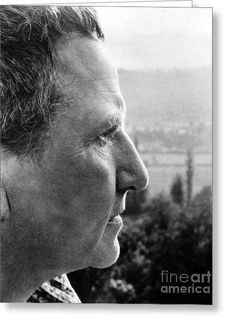 Stein Greeting Cards - Gertrude Stein (1874-1946) Greeting Card by Granger