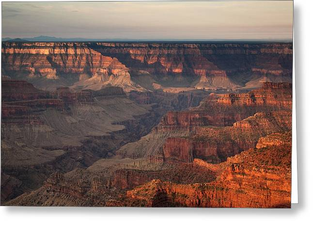 Grand Canyon Greeting Card by Aurica Voss