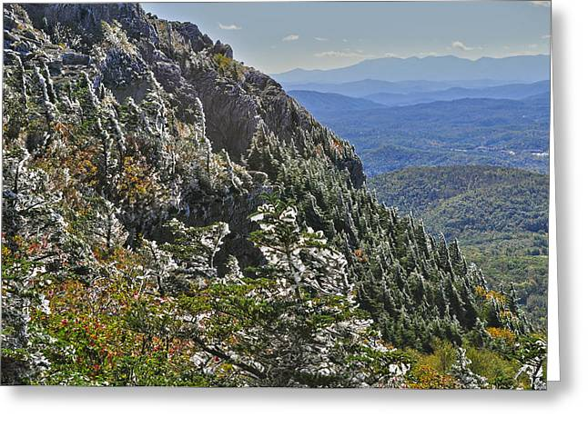 Donnie Smith Greeting Cards - Grandfather Mountain Greeting Card by Donnie Smith