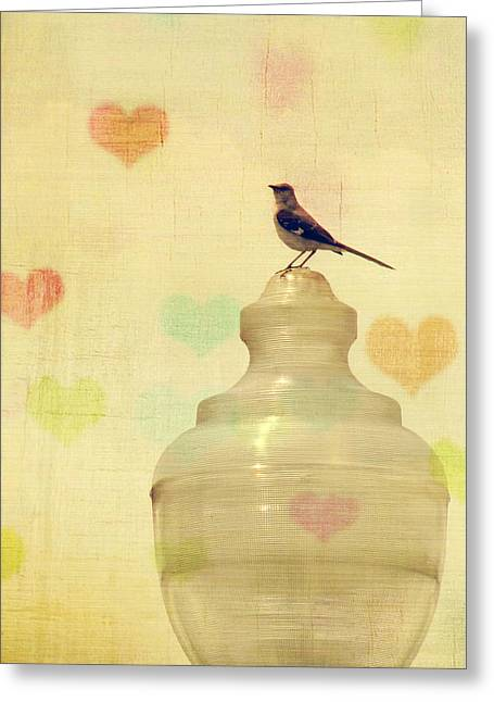 Chic Greeting Cards - Heartsong Greeting Card by Amy Tyler