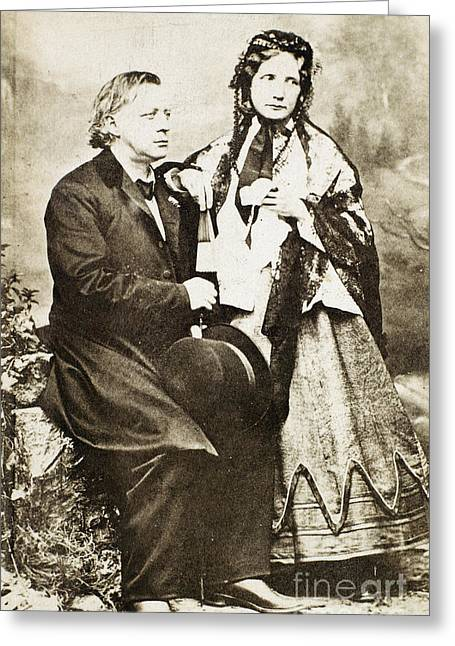 Abolition Greeting Cards - Henry Ward Beecher Greeting Card by Granger
