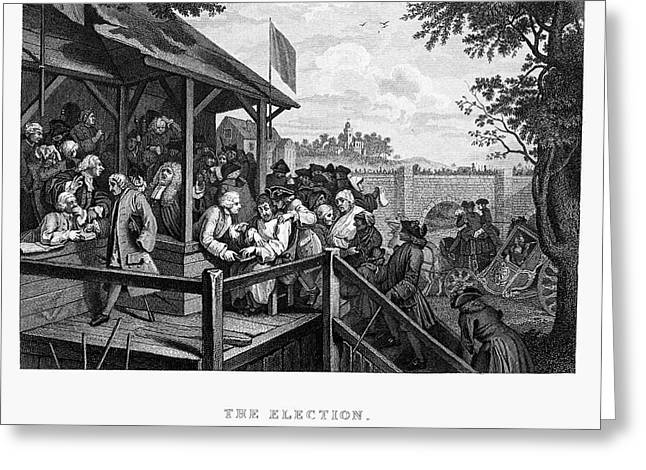 Hogarth: Election Greeting Card by Granger