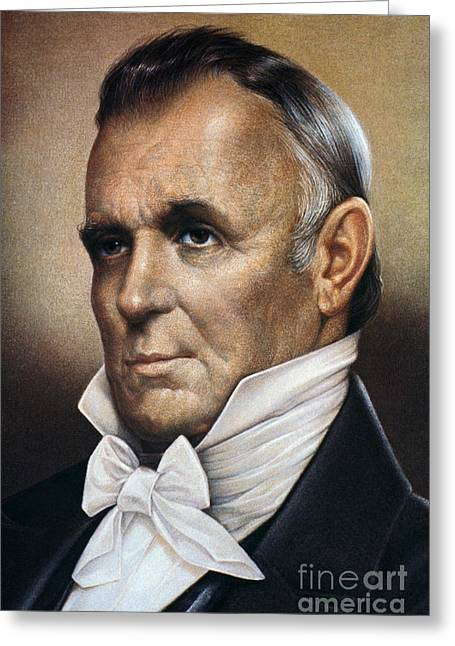 Bowtie Greeting Cards - James Buchanan (1791-1868) Greeting Card by Granger