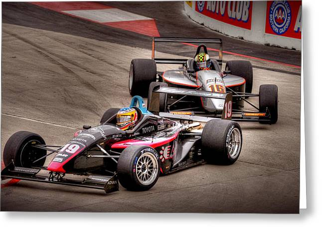 Indy Car Greeting Cards - Lbgp Greeting Card by Craig Incardone