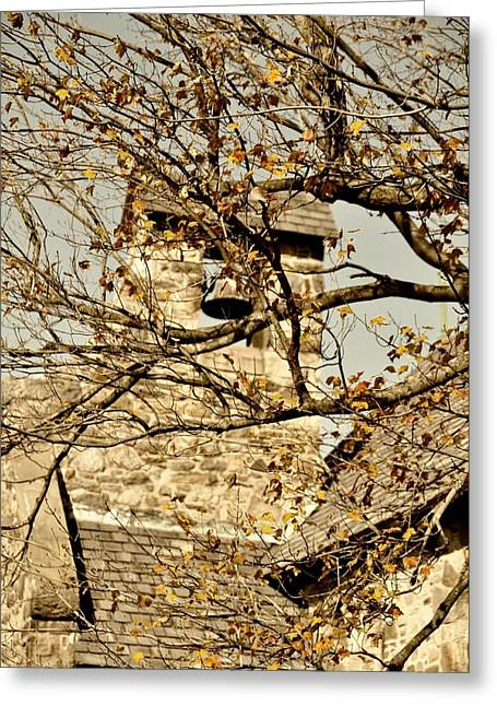 Bird Congregation Greeting Cards - Little Church Of Stone Greeting Card by JAMART Photography