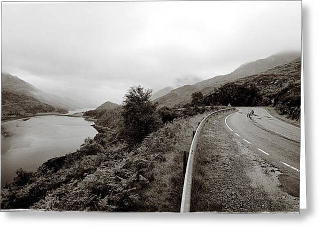 Road Travel Greeting Cards - Loch Leven Greeting Card by Jan Faul