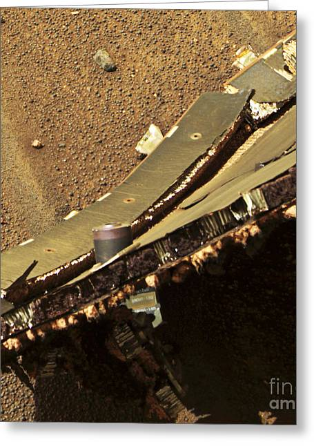 21st Greeting Cards - Mars Exploration Craft Heat Shield Greeting Card by NASA / Science Source