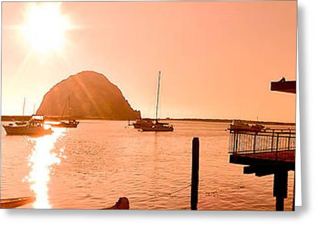 Morro Bay Greeting Cards - Morro Bay Greeting Card by Mickey Clausen